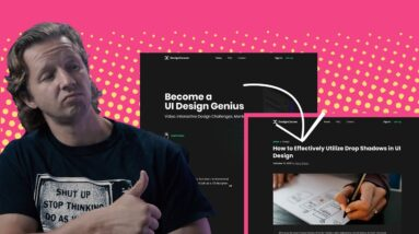 Designing Effective Sub Pages for your Websites & Apps